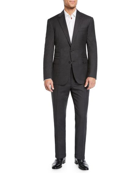 Ralph Lauren Purple Label Men's Two-Piece Basic Wool Suit