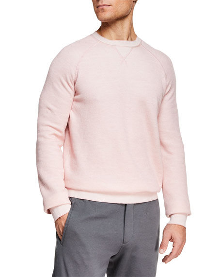 Ermenegildo Zegna Men's Cotton/Cashmere Crewneck Sweater