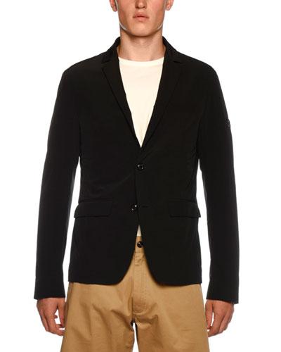 Men's Cligneux Two-Button Jacket
