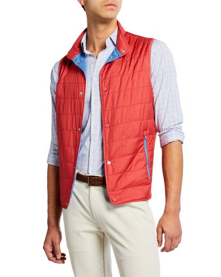 Peter Millar Men's Crown Hyperlight Button Vest