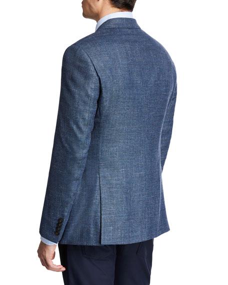 Emporio Armani Men's Super 130s Melange Sport Coat