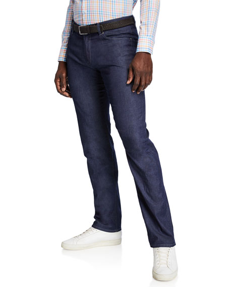 Peter Millar Men's Summer Stretch-Denim Straight-Leg Jeans