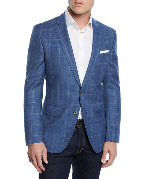 BOSS Men's Slim Fit Window Sport Coat