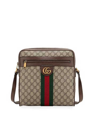 Men's GG Supreme Medium Messenger Bag
