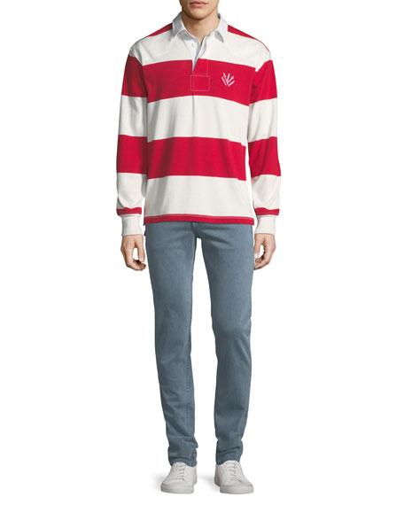 Rag & Bone Men's Fit 2 Slim Fit Over-Dye Twill Jeans