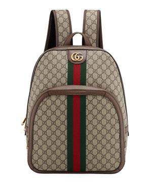 7e04c45eadf Gucci Men s GG Supreme Medium Canvas Backpack
