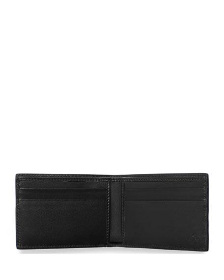 Gucci Men's Wolf-Print GG Supreme Wallet
