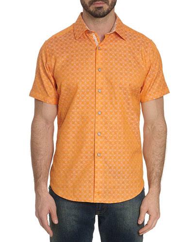 Men's Egyptian Cotton Button Shirt