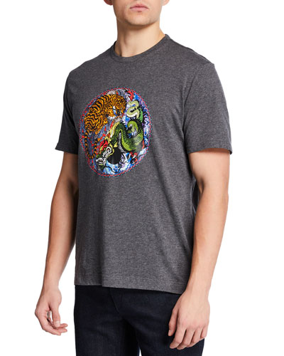 Men's Yin-Yang Graphic T-Shirt