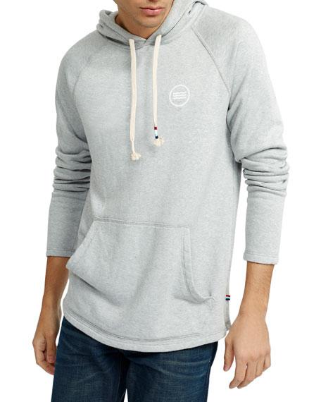 Men'S Sherpa Hoodie Sweatshirt in Heather