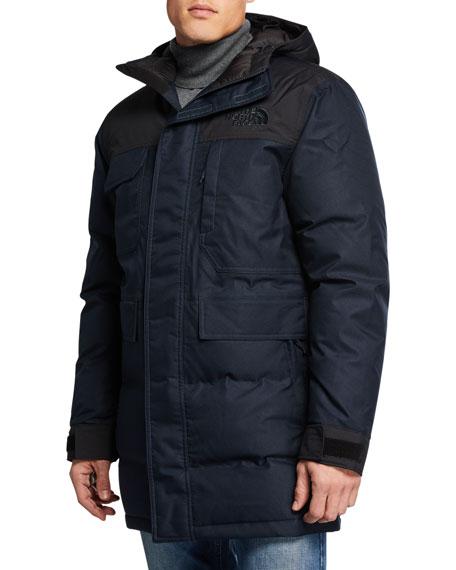 The North Face Men's Biggie McMurdo Hooded Parka Coat