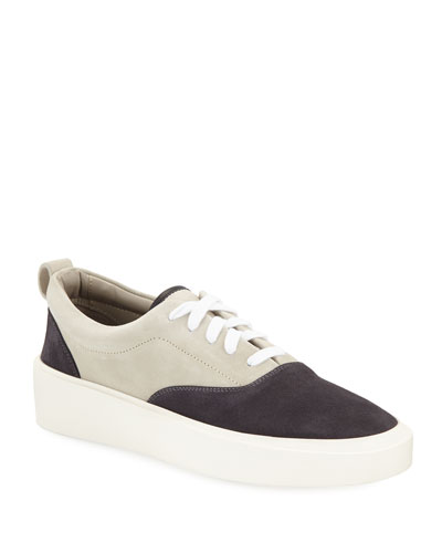 Men's 101 Colorblock Suede Low-Top Sneakers