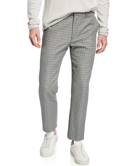 Image 1 of 4: Men's Patrick Plaid Wool/Cotton Pants