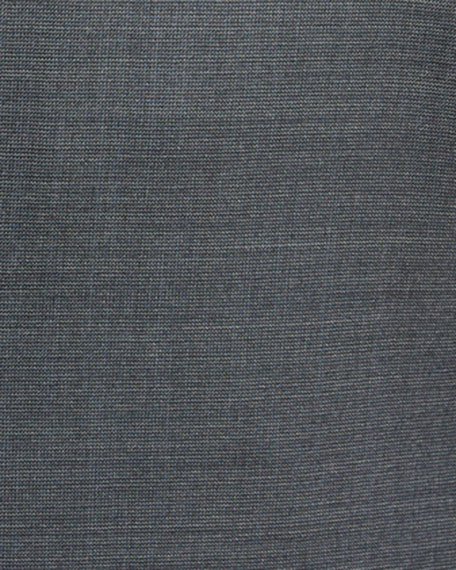 Emporio Armani Men's Super 140s Wool Neat Ice Two-Piece Suit