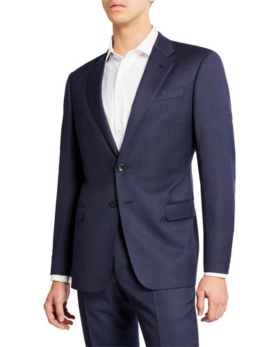 Men's Micro Birdseye Two-Piece Suit