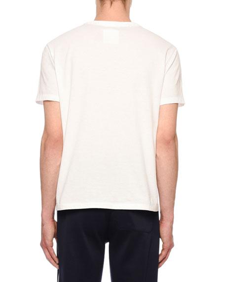 Valentino Men's Rockstud-Trim T-Shirt