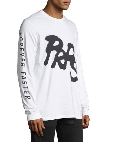 Puma Men's Puma X PRPS Graphic Long-Sleeve T-Shirt