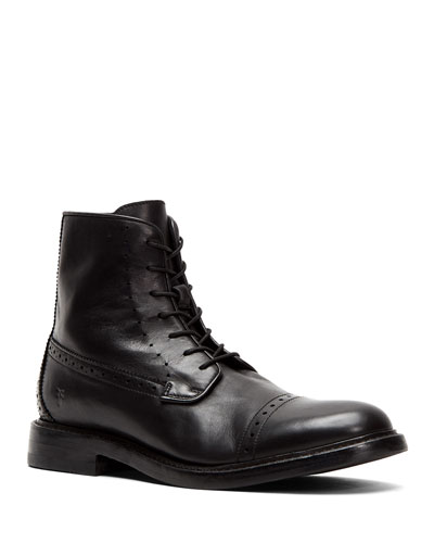 Men's Dye Leather Boots