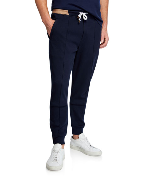 Brunello Cucinelli Men's Spa Banded Sweatpants