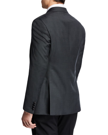 Emporio Armani Men's Diamond Tuxedo Jacket