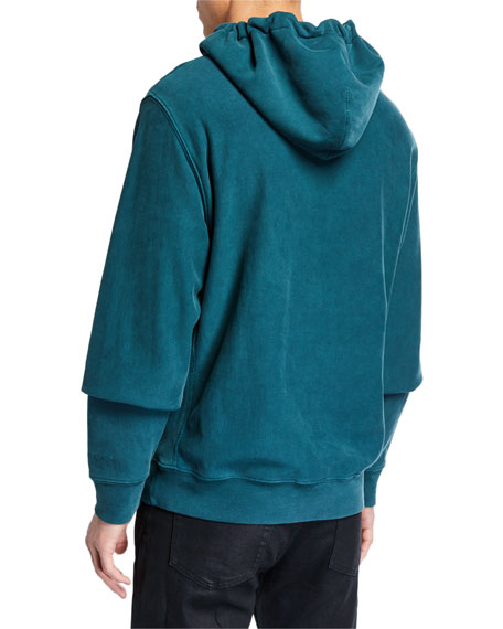 7 For All Mankind Men's Commons Graphics Pullover Hoodie