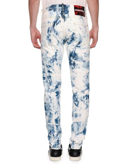 Dsquared2 Men's Cool Guy Bleach-Wash Jeans