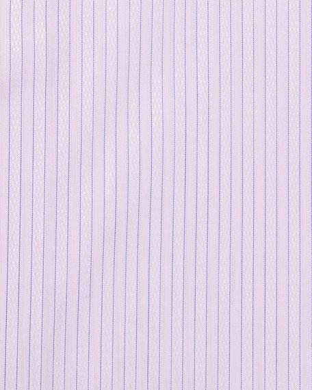 Stefano Ricci Men's Hairline Stripe Dress Shirt