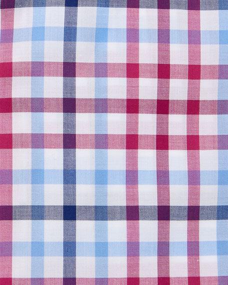 Stefano Ricci Men's Medium Check Dress Shirt