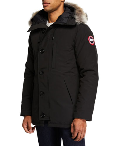 Men's Chateau Parka Coat - Fusion Fit