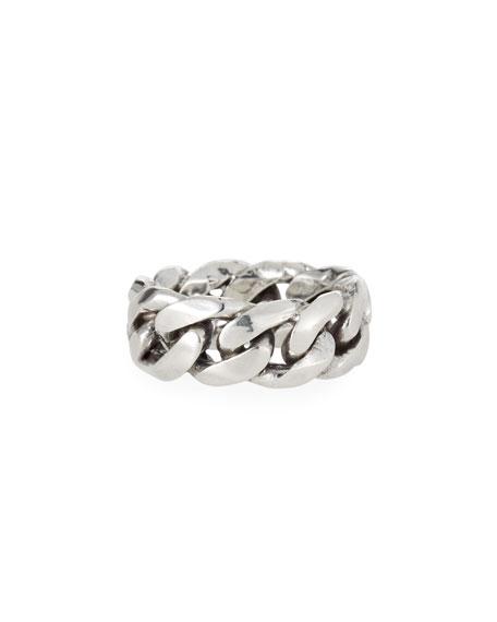 Emanuele Bicocchi Men's Rigid Curb Chain Ring