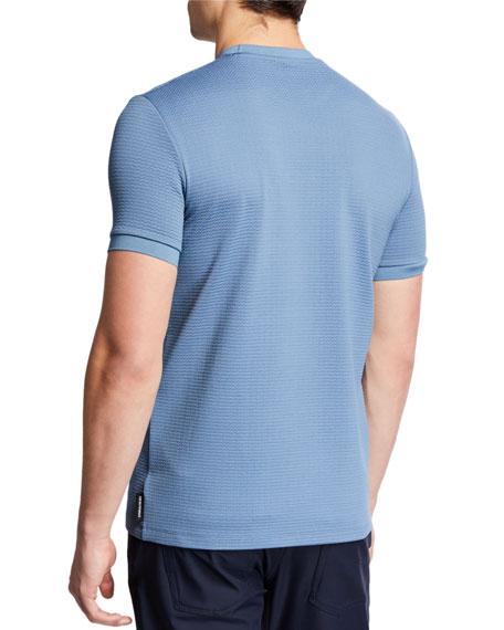 Emporio Armani Men's Textured Jersey T-Shirt