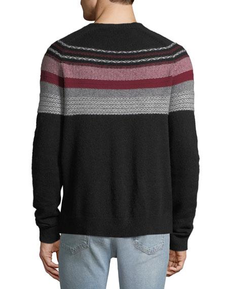 ATM Anthony Thomas Melillo Men's Merino Fair Isle Sweater