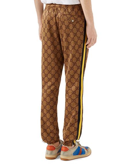 Gucci Men's Retro-Logo Jogger Pants