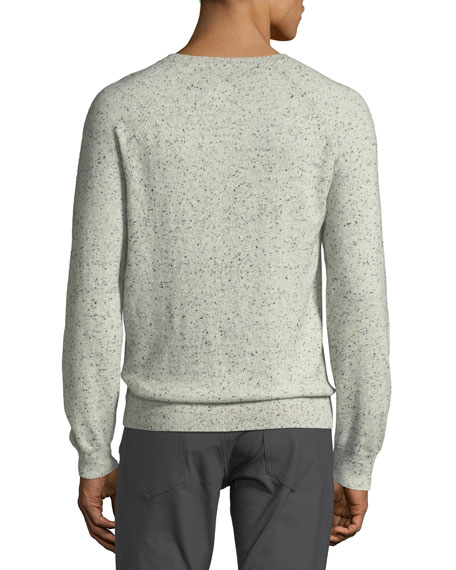 Theory Men's Donegal Cashmere Crewneck Sweater
