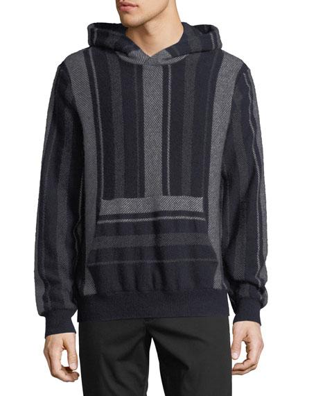 Vince Men's Baja Striped Pullover Hoodie
