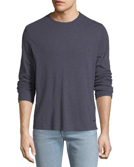 John Varvatos Star USA Men's Heathered Long-Sleeve T-Shirt