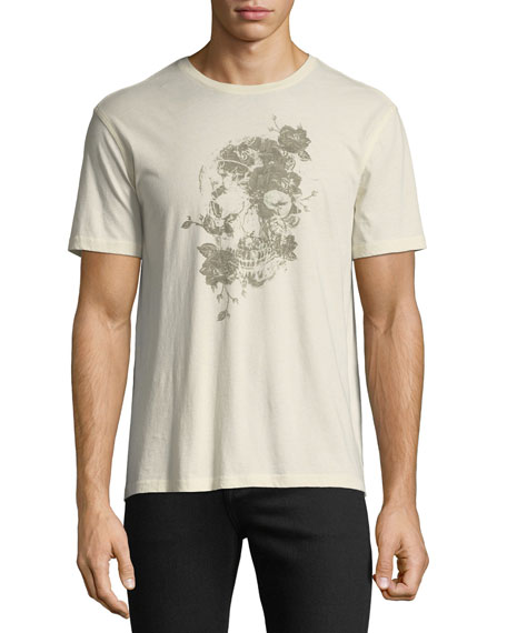John Varvatos Star USA Men's Floral Graphic T-Shirt