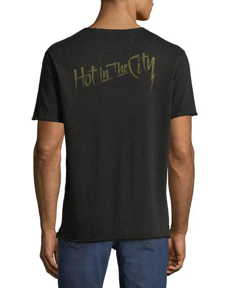 John Varvatos Star USA Men's Billy Idol Band T-Shirt