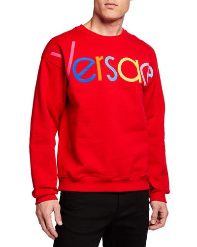 Men's Multicolor Logo Sweatshirt