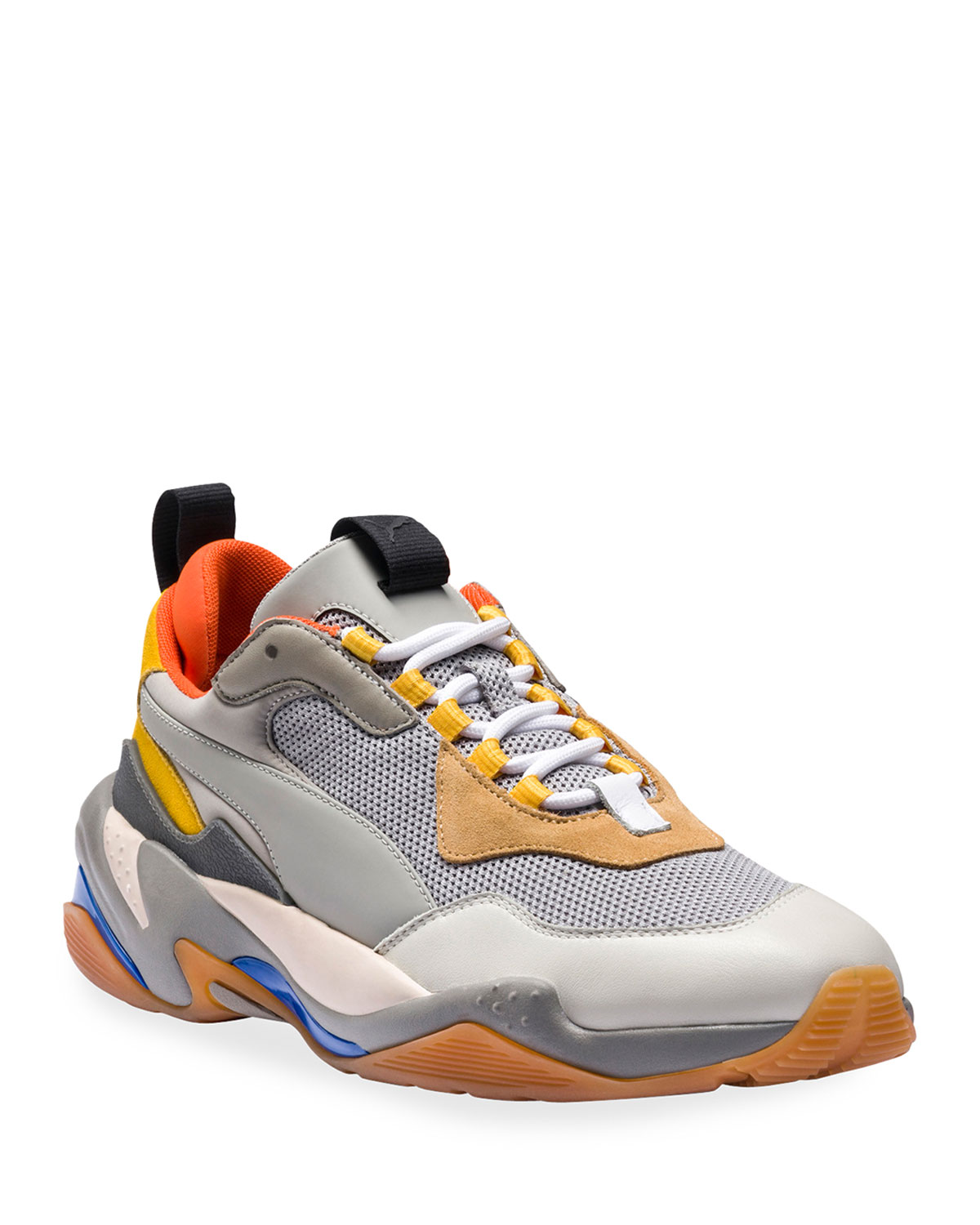 competitive price c7d66 85047 Puma Men s Thunder Spectra Leather Trainer Sneakers, ...