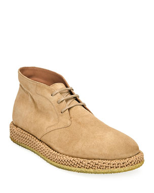 Salvatore Ferragamo Men s Alpes Suede Chukka Boots 8861a1817b6