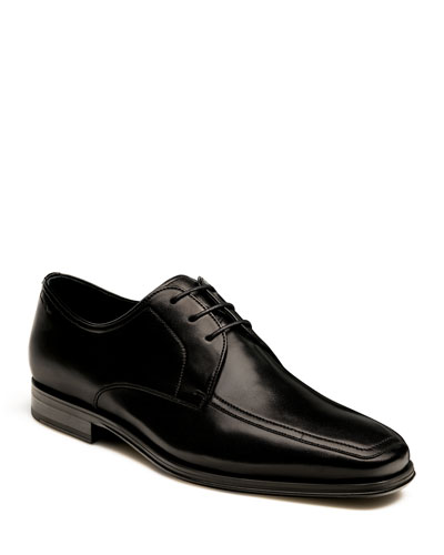 Men's Antonio Leather Lace-Up Oxfords