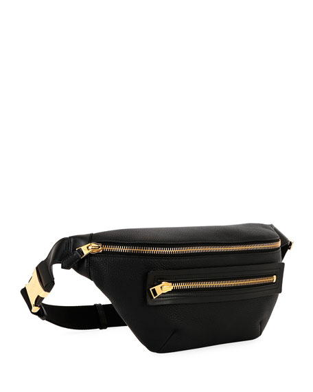 TOM FORD Men's Leather Belt Bag