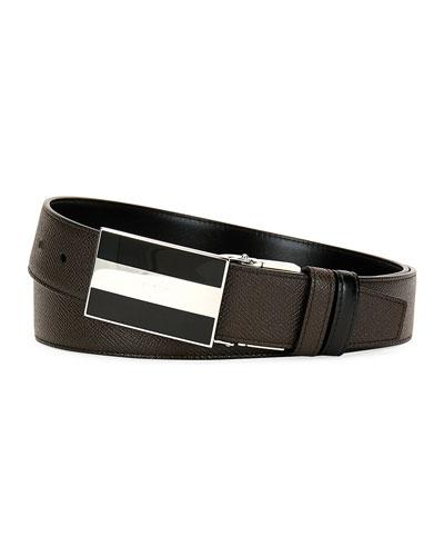 Men's Bogart Calf Leather Belt