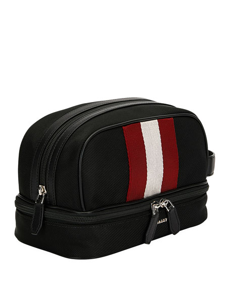 Bally Men's Woven Toiletry Bag