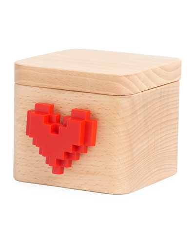 Lovebox Spinning Heart Messenger Box