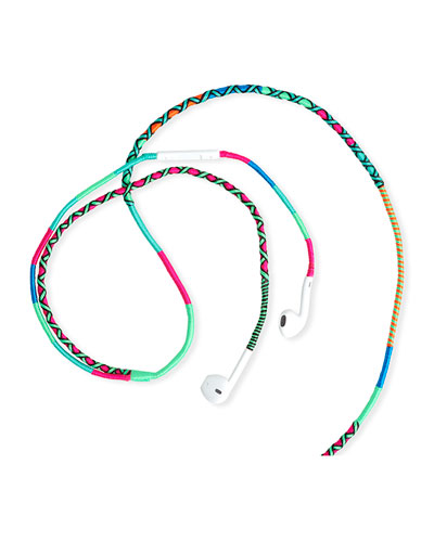 Happy Nes Hand-Woven In-Ear Headphones - 35mm