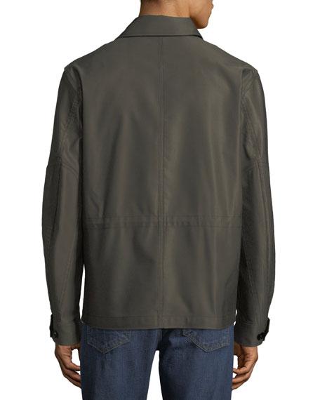 TOM FORD Men's Sateen Military Blouson Jacket
