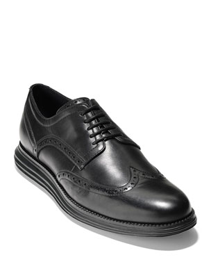 d83175cdafc Cole Haan Men s Original Grand Leather Wing-Tip Oxfords