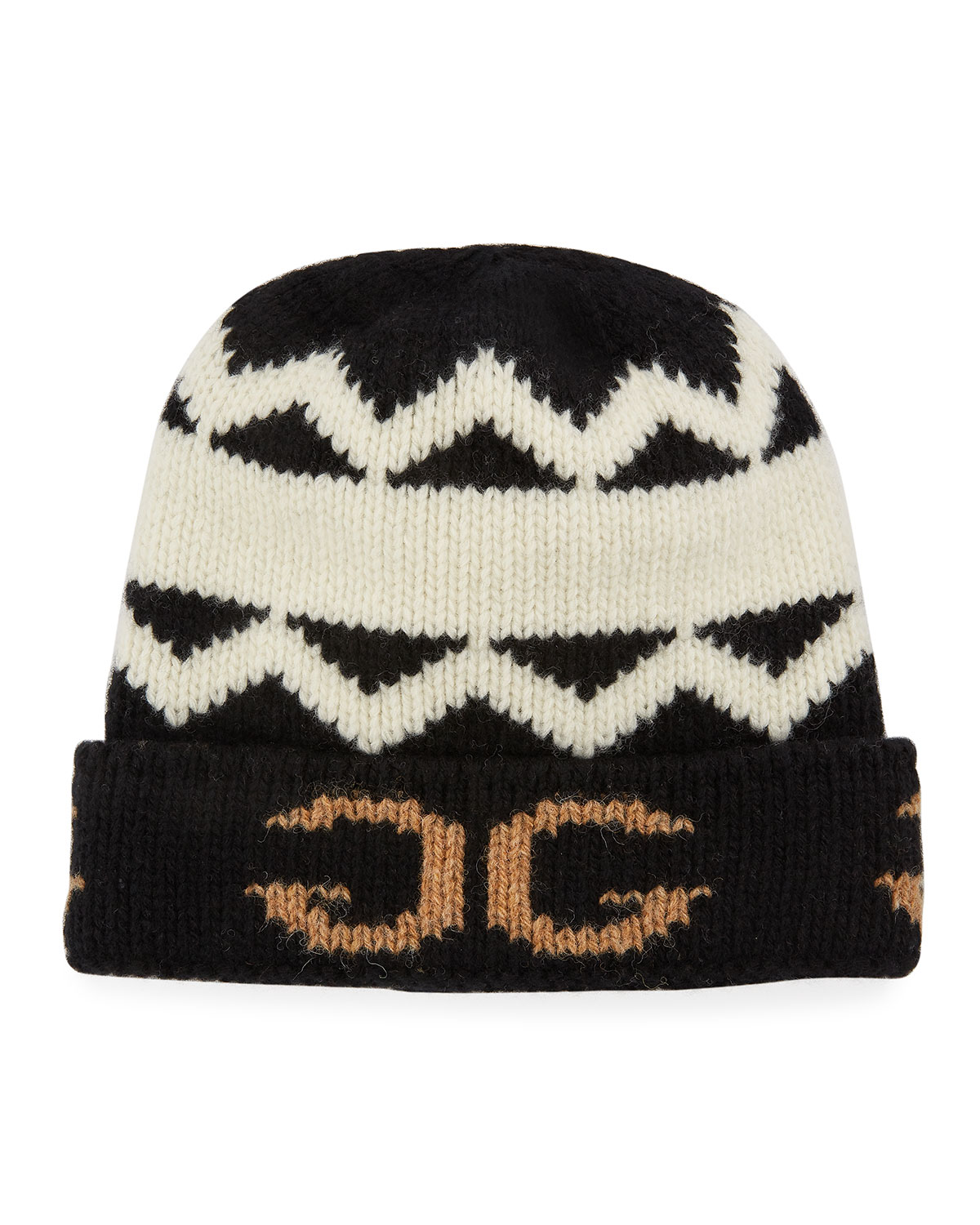 Gucci Men s Peruss Logo-Knit Beanie Hat  2f434fb07e1